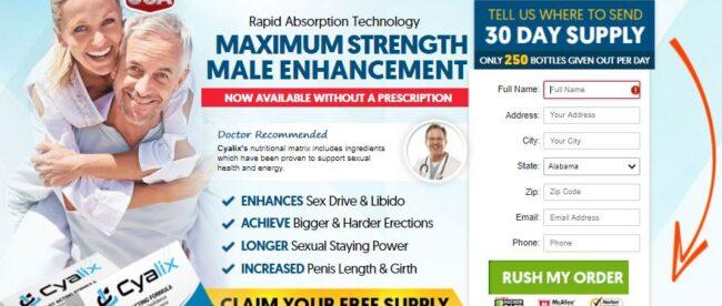 Cyalix Male Enhancement 2