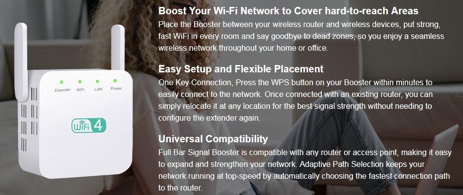 Full Bar Signal Booster 1