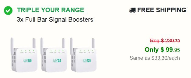 Full Bar Signal Booster 2