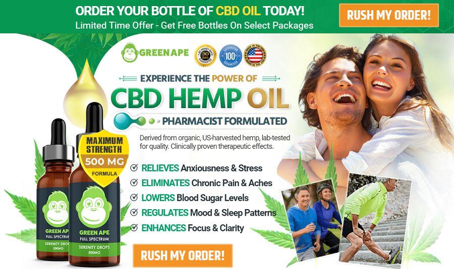 Green Ape CBD Oil 1