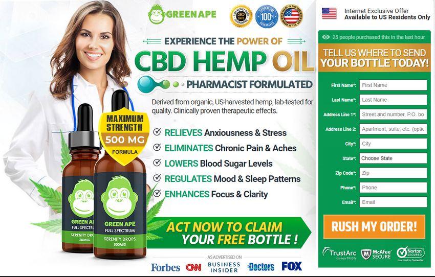 Green Ape CBD Oil 2