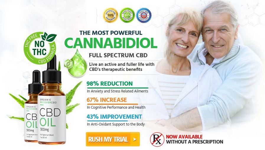 Organic Recover CBD 1