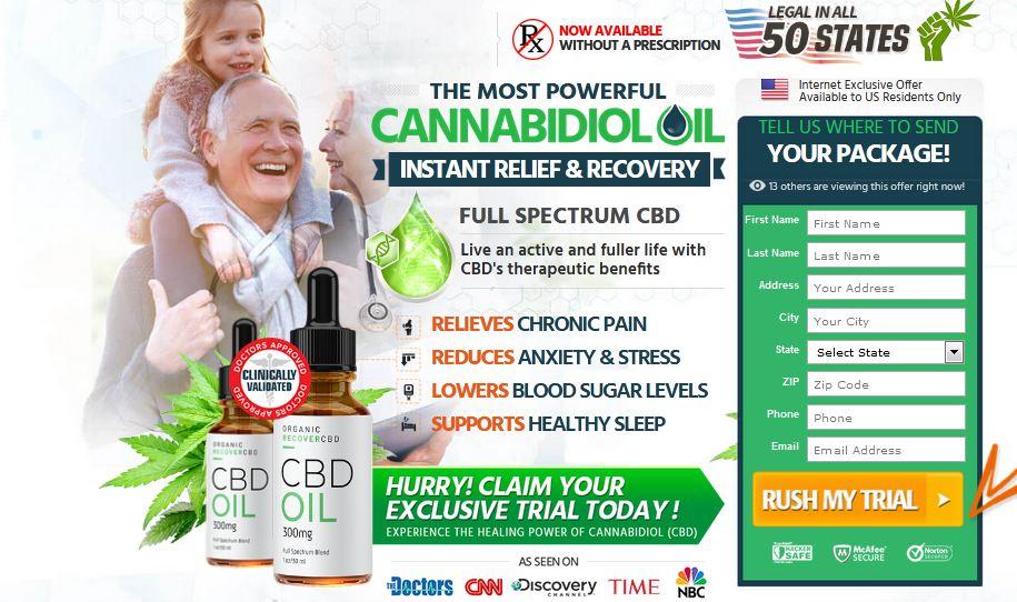 Organic Recover CBD 2