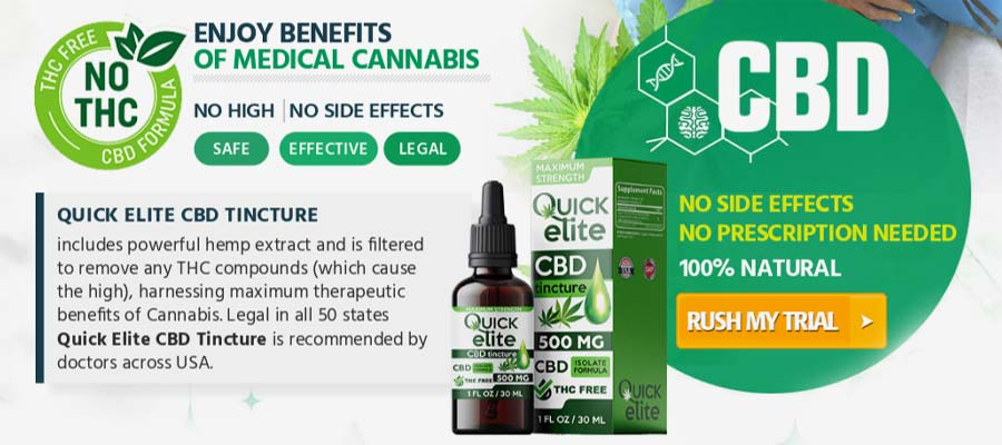 Quick Elite CBD Oil 1