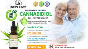 Herbal Grown CBD Oil 2