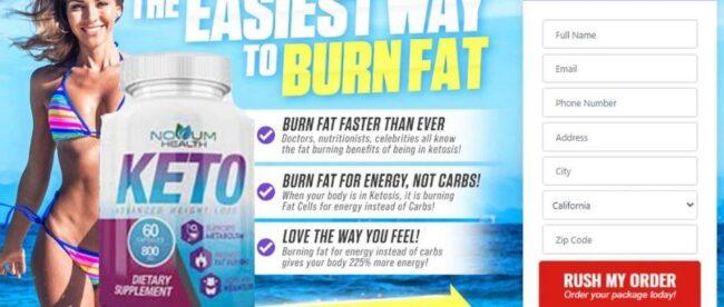 Novum Health Keto Diet