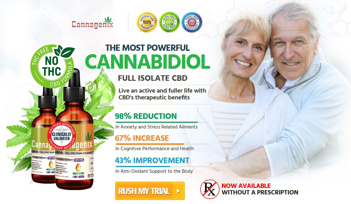Cannagenix CBD Oil 1