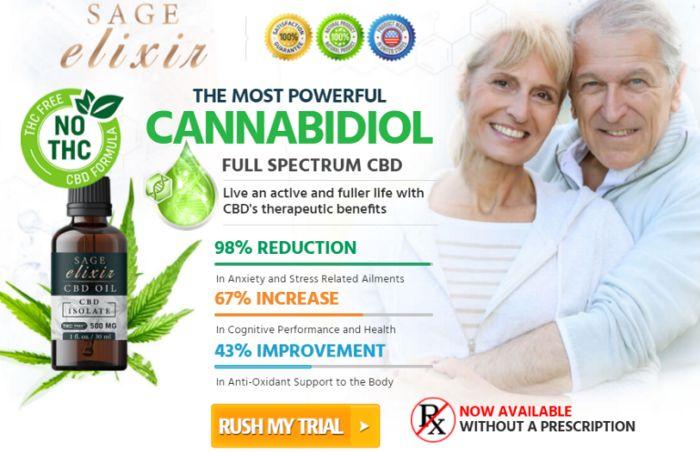 Sage Elixir CBD Oil 1